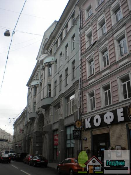 Мясницкая улица дом №13 строение 3